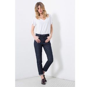 Talley NYC High Rise Slim, Ankle Jeans